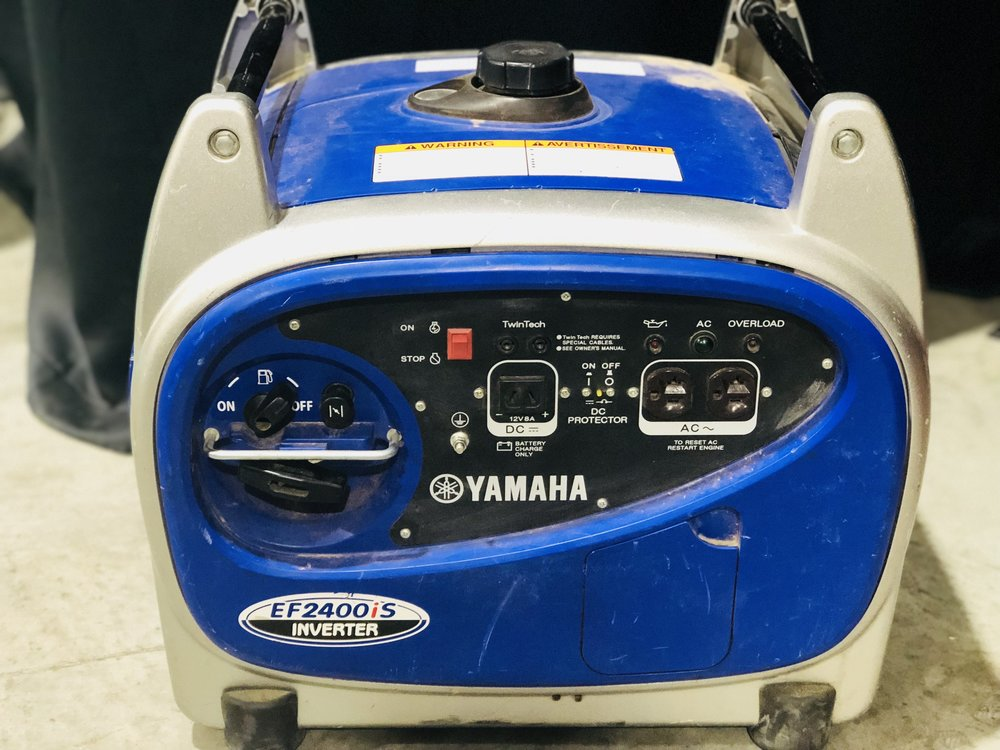 Generator Rental - Rent a 2400 watt Yamaha generator with an inverter$15.00 per day**Call to reserve**