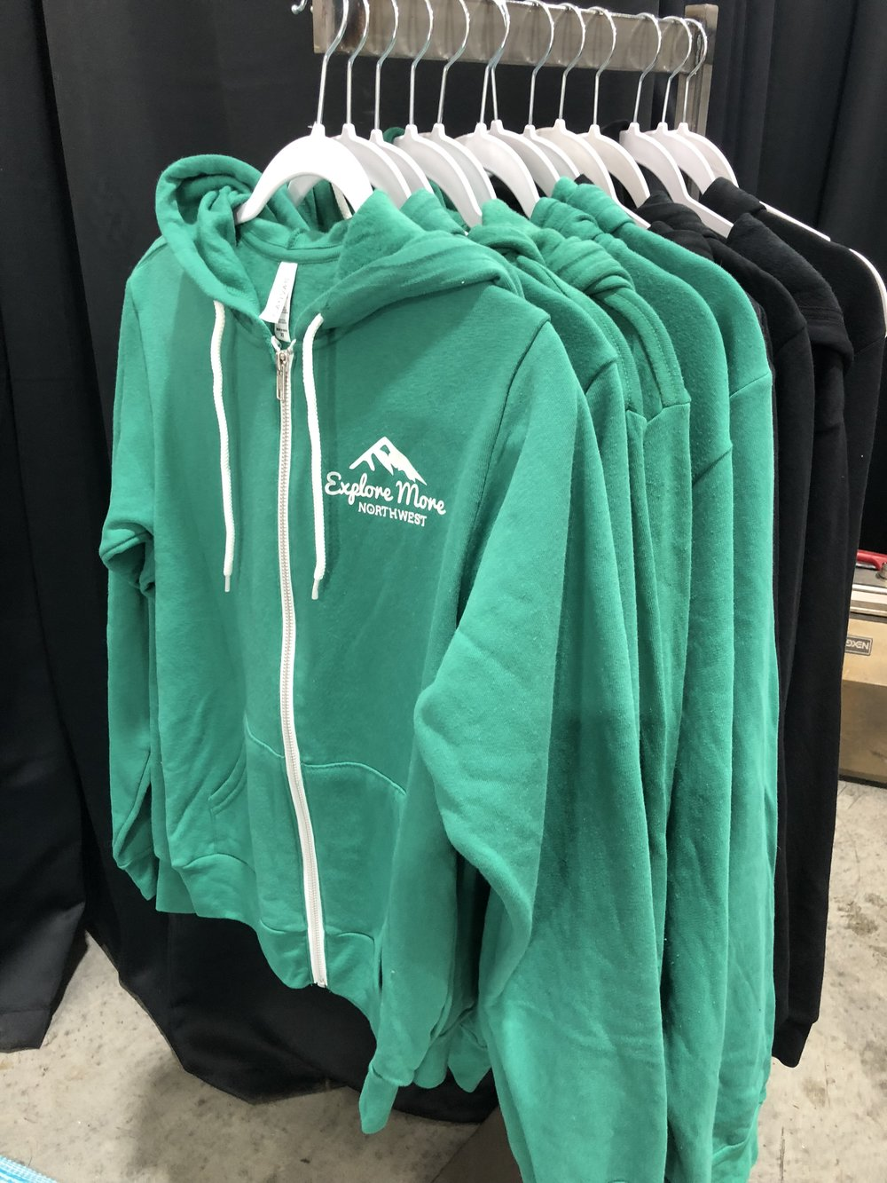 Sweatshirts - An incredibly soft and relaxed hoodie that will keep you warm on your next adventure. Features a relaxed fit, drawstring hood and full zip closure.6.5 oz., 52% Airlume combed and ring-spun cotton, 48% poly fleeceFull-zip closure with white taping, white drawstring ribbed cuffs and waistband, side-seamed