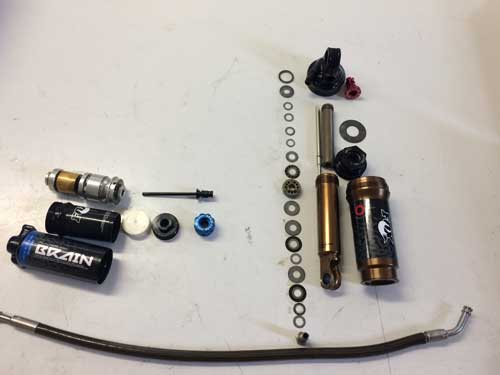 Rebuild service of Fox / Specialized Brain Rear Shock