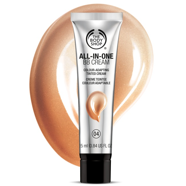 For those who want a little coverage during their workout without clogging their pores, The Body Shop's All-In-One BB Cream is exactly what you need! It offers light coverage without slipping and sliding off your skin.  It starts out as a white cream, but once applied, it matches your skin tone so you don't have to worry too much about blending.  Perfect for on-the-go and to the gym!