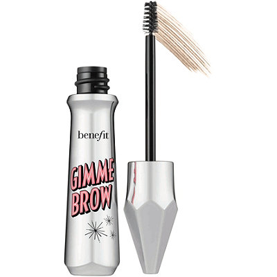 For those concerned about their brows when they're bare-faced, Benefit's Gimme Brow will give your brows volume and definition without you having to draw in individual hairs.  Having a more natural look for the gym, will leave your skin happy, and you feeling accomplished!