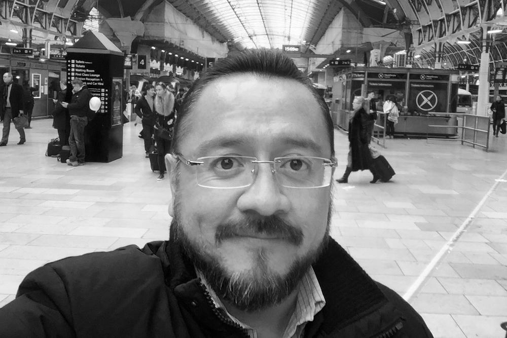 Rodrigo Guerra, Londres,25 de febrero 2016