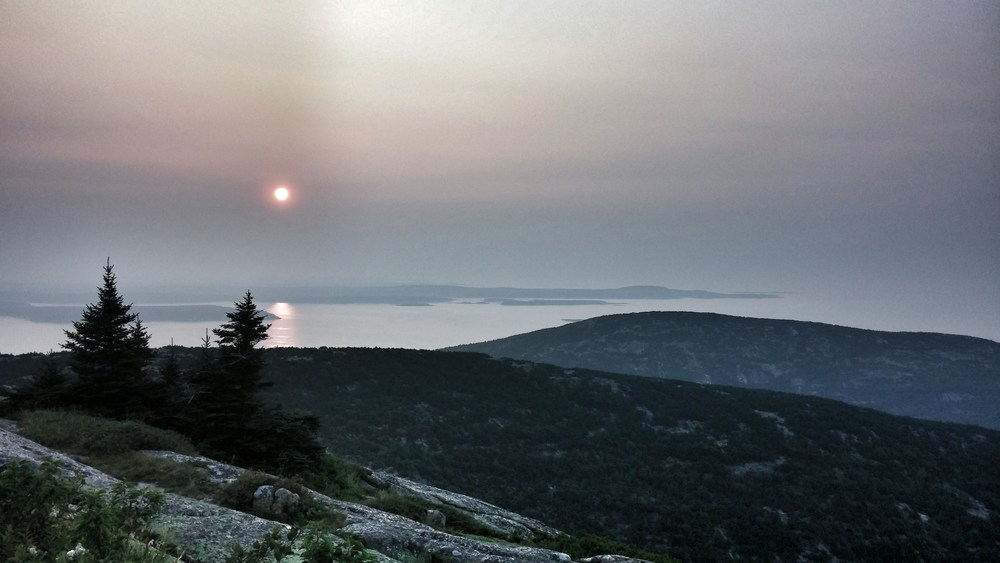 sunrise at cadallac mountain