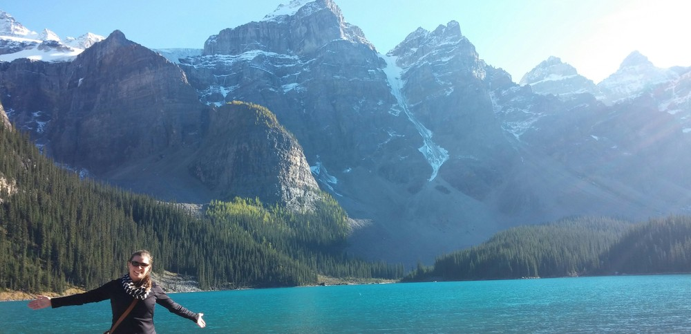 Banff National Park, Alberta, Canada. How could I leave this view?