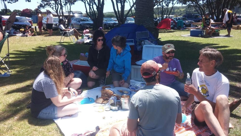 Spontaneous picnic!