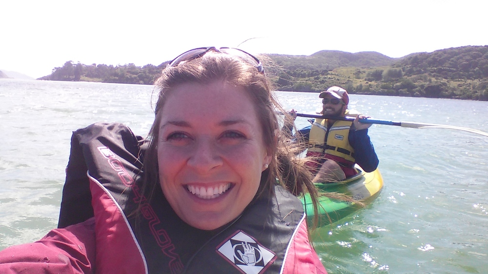 Kayaking in Raglan, NZ!