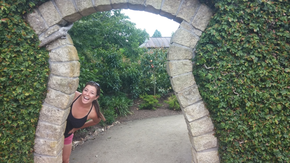 Exploring Hamilton Gardens