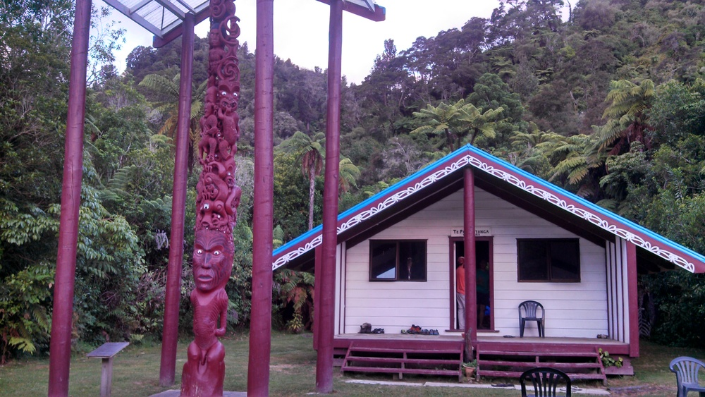 The Maori Mari where they welcomed us!