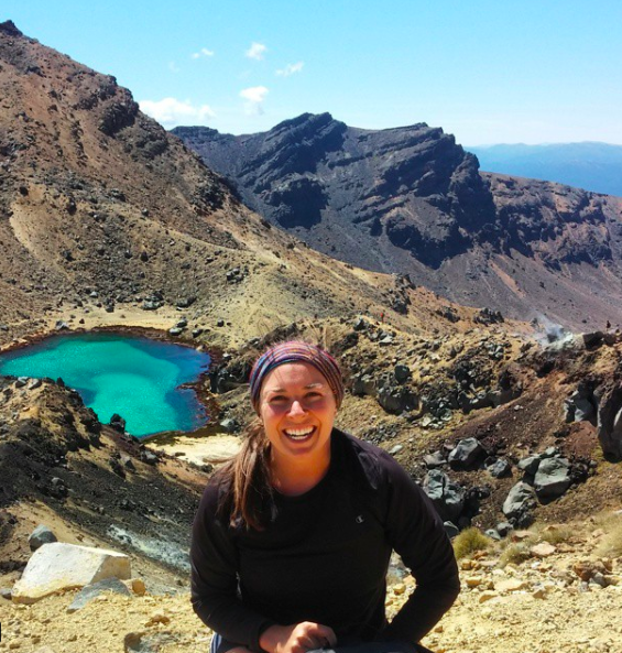 Perfect as a headband, ear warmer, and a neck guard on the Tongariro Crossing in New Zealand.