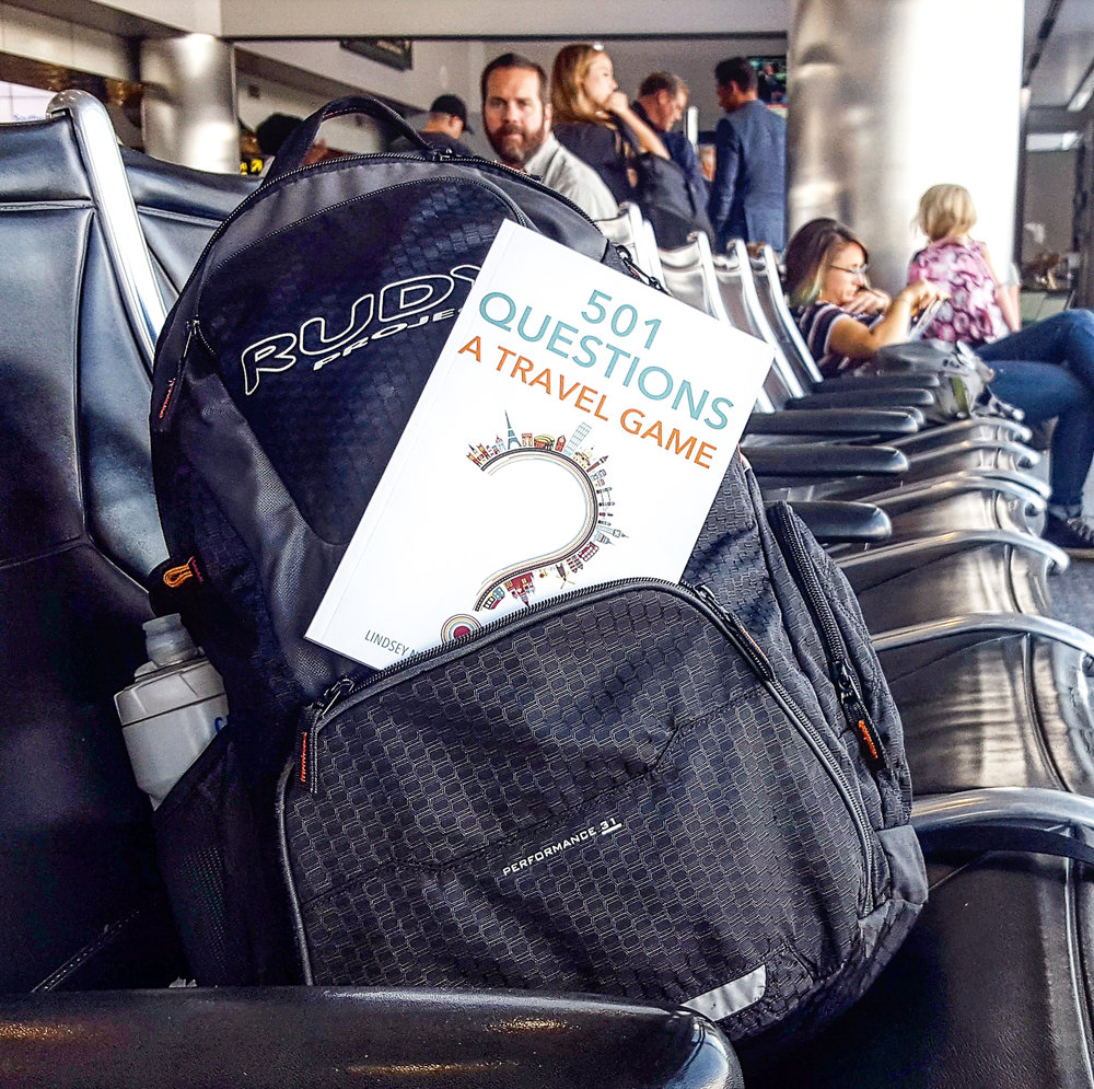 501 Questions: A Travel Game at the Airport
