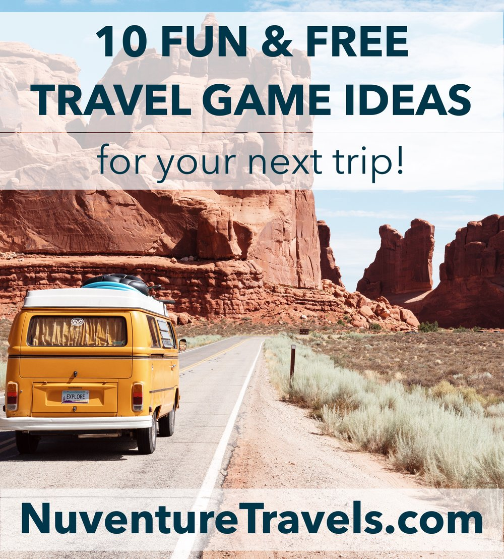 10 Fun & Free Travel Games for a Road Trip