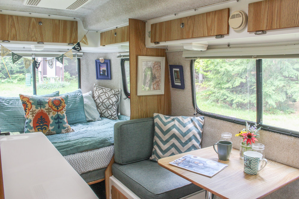 How To Hang Frames On Carpeted Walls Of Casita Travel Trailer