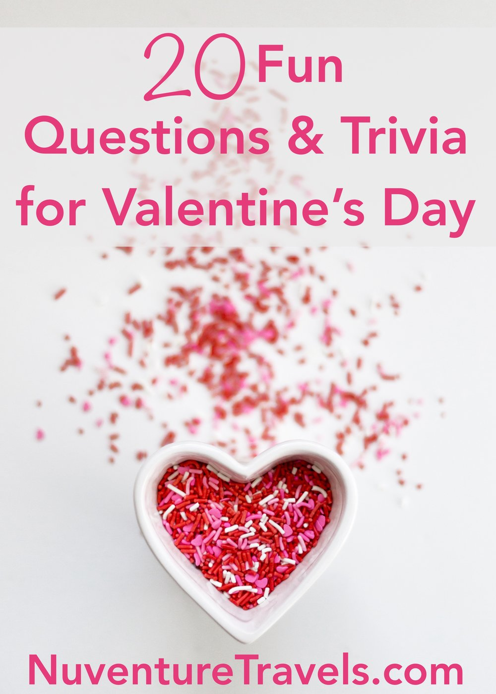 20 Fun Questions & Trivia for Valentine's Day Date Night