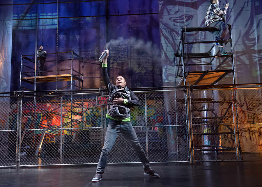 Article on controversial Steppenwolf Young Adults show deemed inappropriate by Chicago's two major theater critics for its representation of graffiti. (American Theatre Magazine)