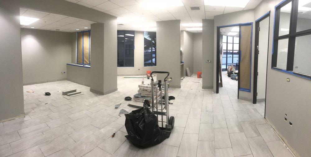 New Studio Jomac Honolulu in progress