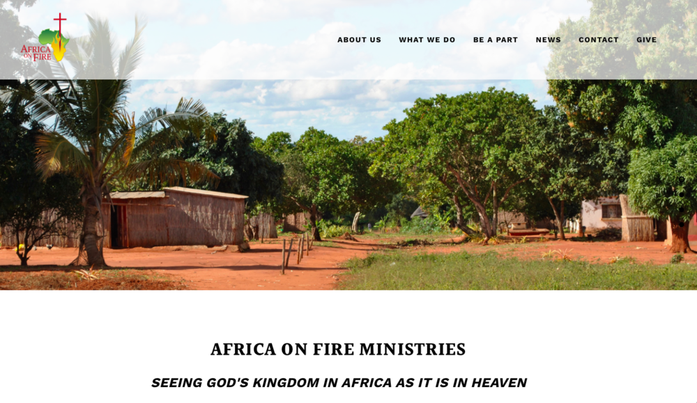 squarespace website for ministry