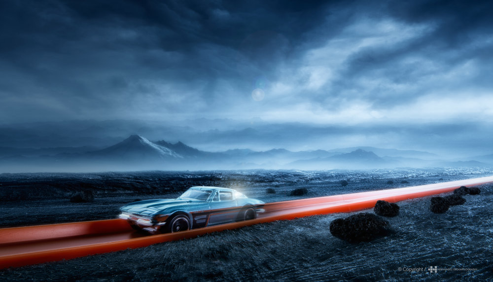 COMMERCIAL PROJECT FOR MATEL, HOT WHEELS / USA