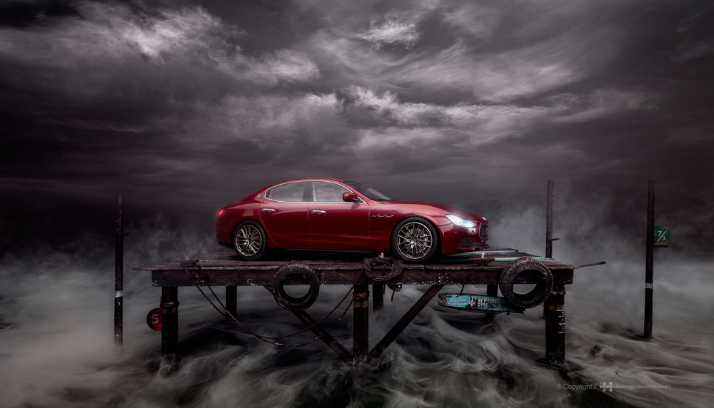COMMERCIAL PROJECT FOR MASERATI / ITALY
