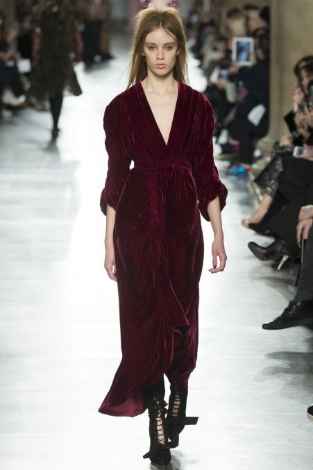 Velvet dress by Preen
