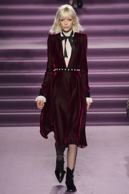 Velvet dress by Philosophy di Lorenzo Serafini