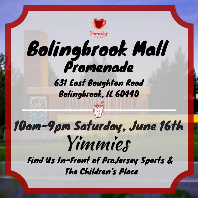 Yimmies Cafe Bolingbrook Promenade Mall