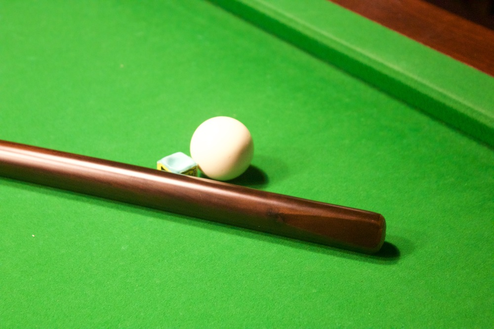 Brown Bottom Cue  £40.00
