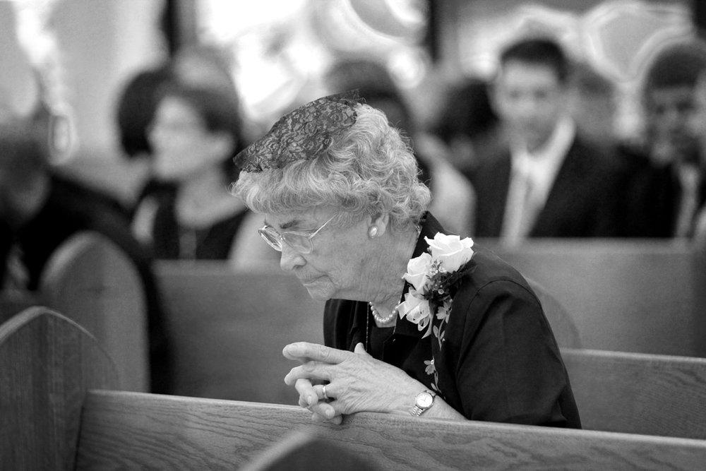 Bride's Grandmother, 2011