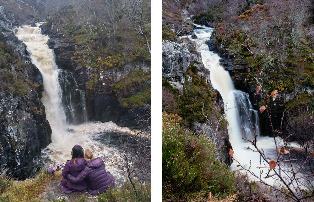Regular photo (left) / Long exposure (right)