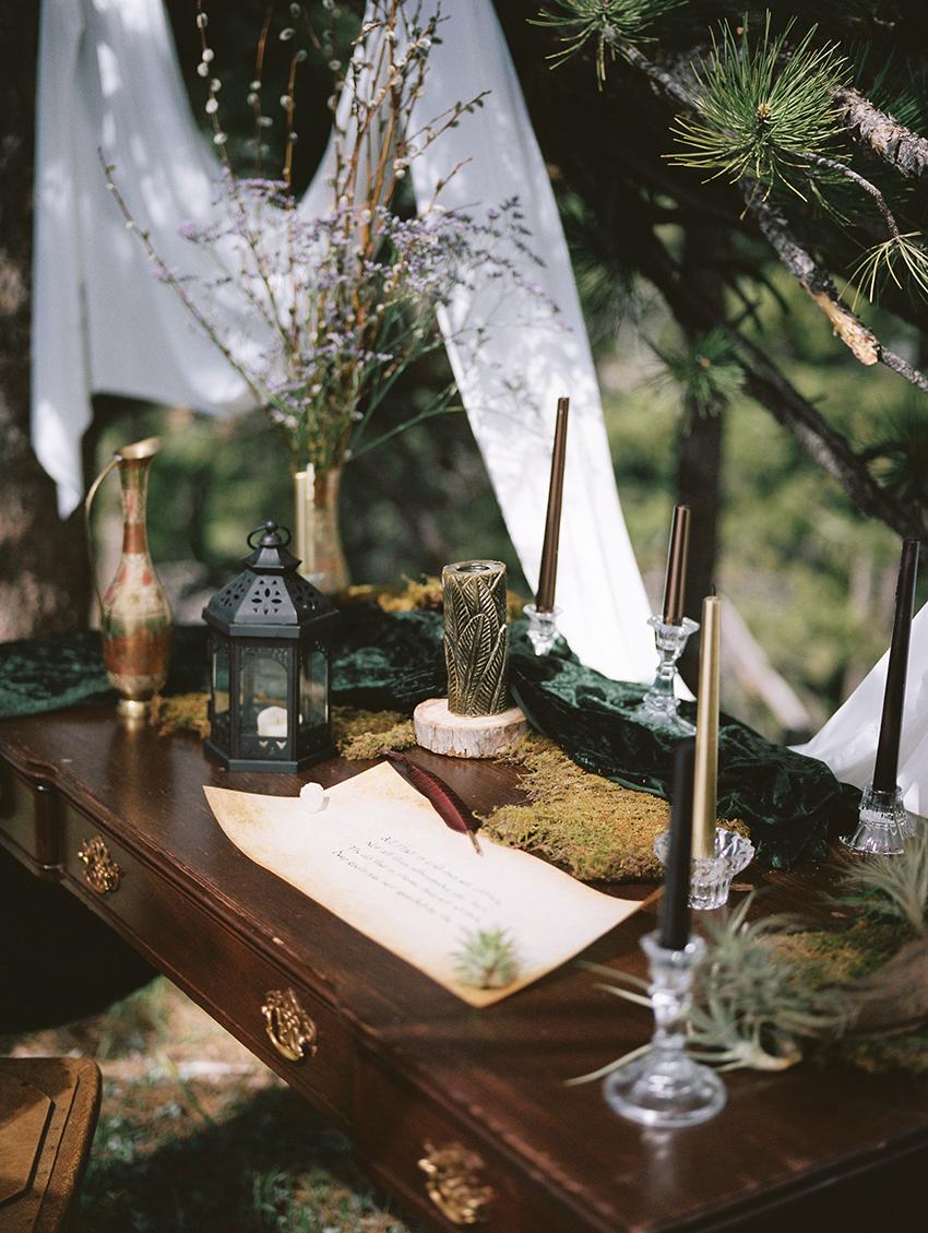 Colorado Elven Cosplay Bridal Portraits Mountain Wedding Photographer_04.jpg