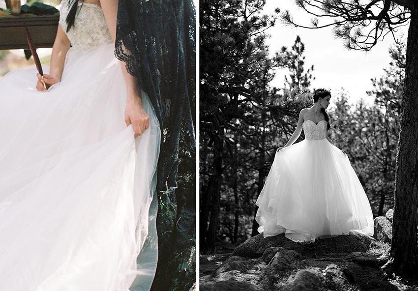 Colorado Elven Cosplay Bridal Portraits Mountain Wedding Photographer_16.jpg