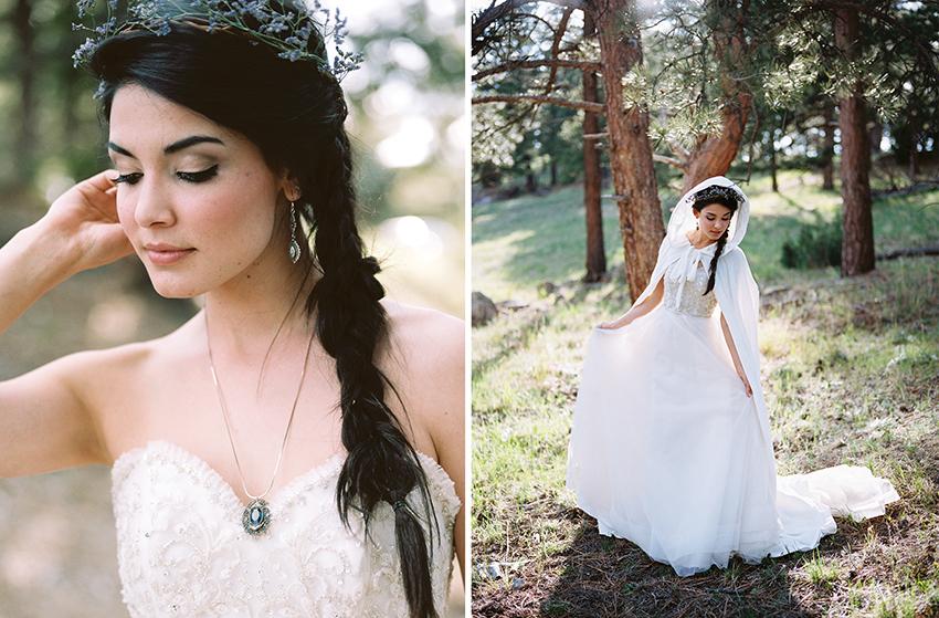 Colorado Elven Cosplay Bridal Portraits Mountain Wedding Photographer_23.jpg