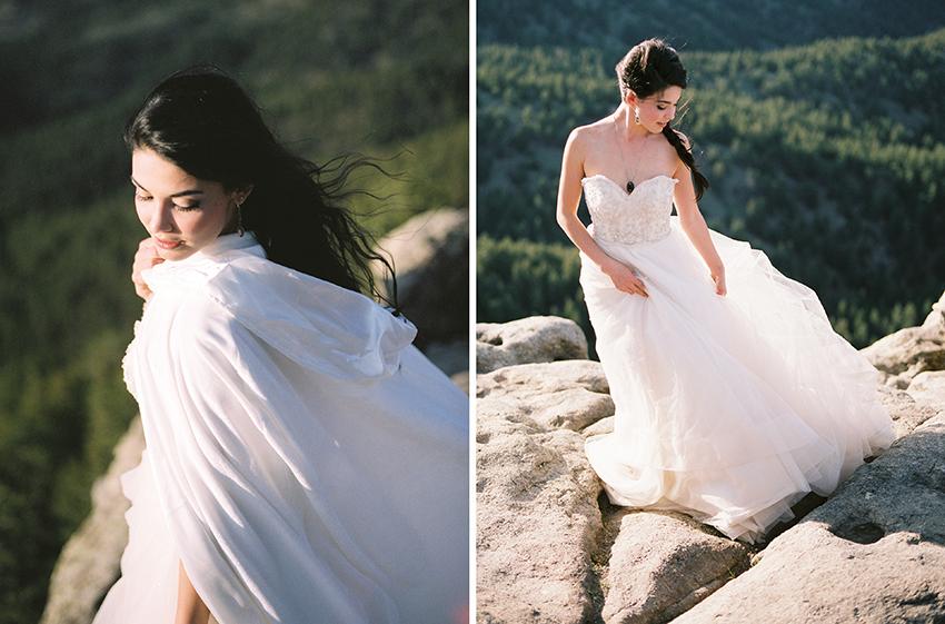 Colorado Elven Cosplay Bridal Portraits Mountain Wedding Photographer_35.jpg