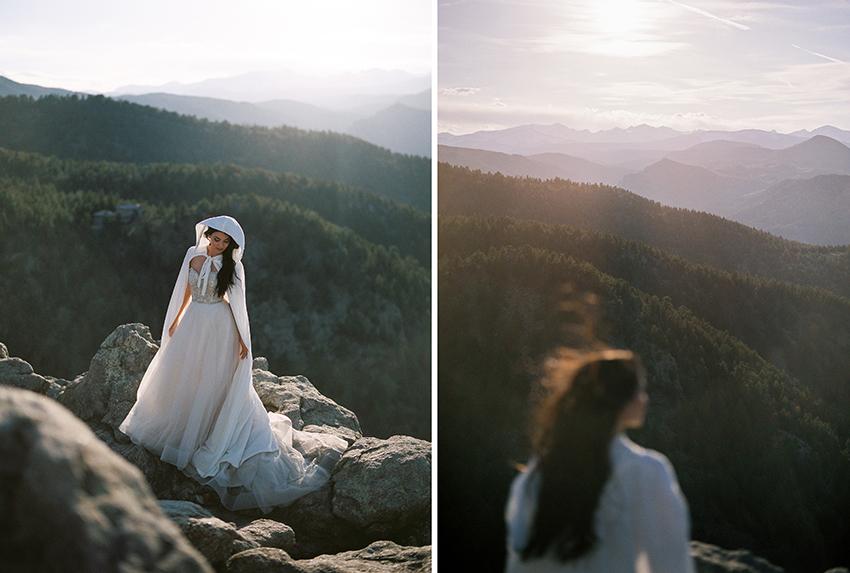 Colorado Elven Cosplay Bridal Portraits Mountain Wedding Photographer_38.jpg