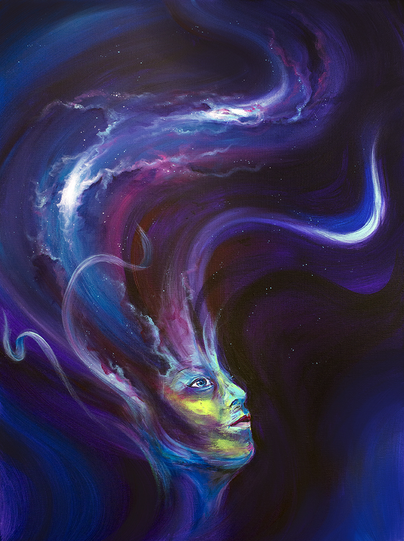 Beyond Dreams, Acrylic on canvas 2016