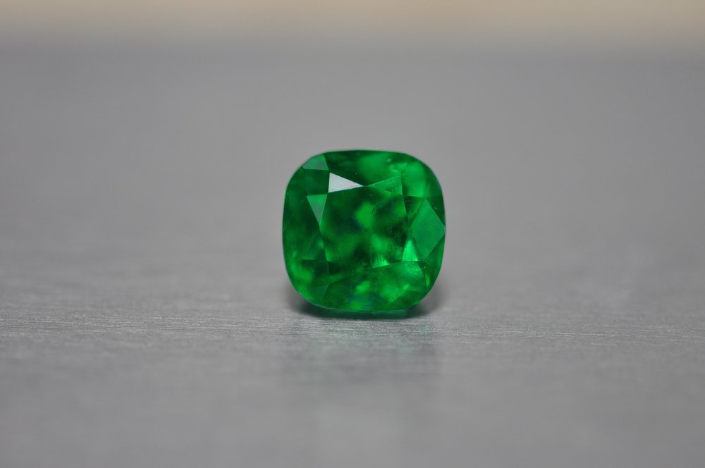 Cushion Cut Emerald