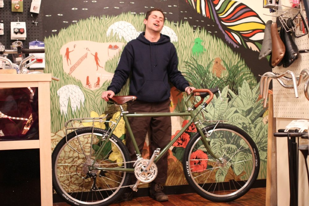 You've just taken the first step towards the ecstasy of bicycle ownership!