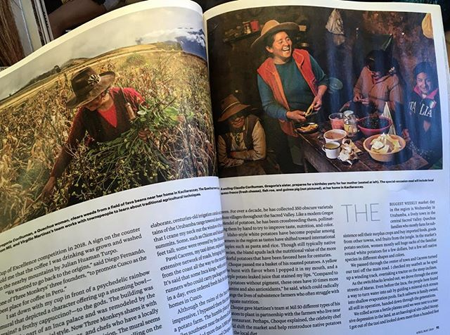 You don't always get to see a project come to life in print. So proud to see @alec_jacobson's beautiful words and photos from our work in Peru on the news stands. Go pick up your copy of @natgeotravel magazine to learn more! breakingbarriers. . . . . . . . . . . #andes #travelsouthamerica #womenwhohike #theladyalliance #forceofnature #mecnation #sheexplores #outdoorproject #goexplore #exploremore #outdoorbella #andshesdopetoo @insidenatgeo @milcentro @mater.in @malenamater @dangerlof