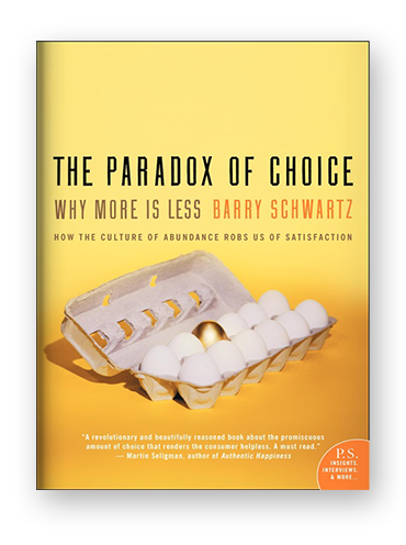 the paradox of choice blog