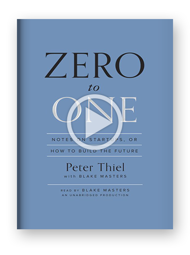 zero to one blog