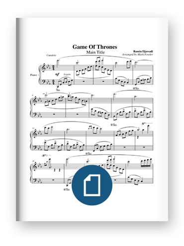 Game of Thrones Main Theme Sheet Music on Scribd