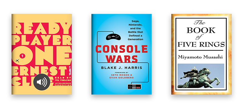 Ready Player One and Console Wars and The Book of Five Rings on Scribd
