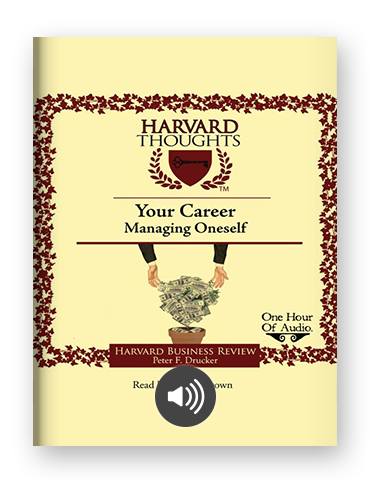 Managing Oneself by Peter Drucker on Scribd