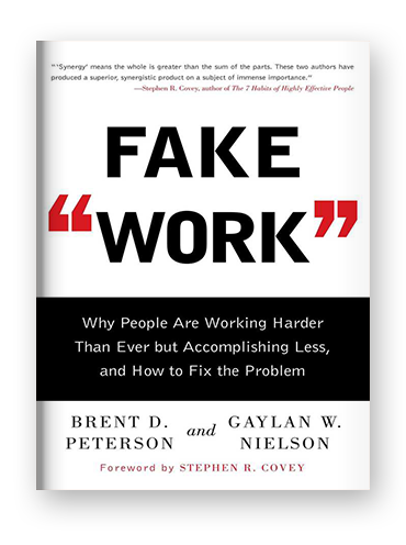 "Fake ""Work"" by Brent Peterson and Gaylan Nielson on Scribd"