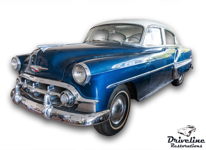 1954 Chevrolet Bel Air Driveline Restorations 57 Chevy Rear Bumper