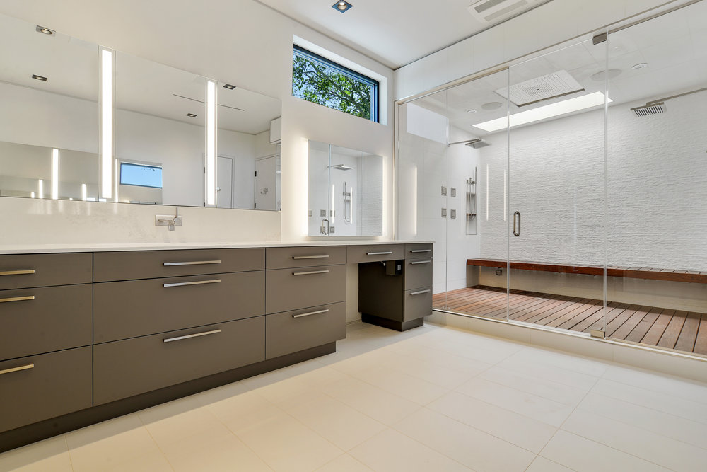 Modern Master Bathroom
