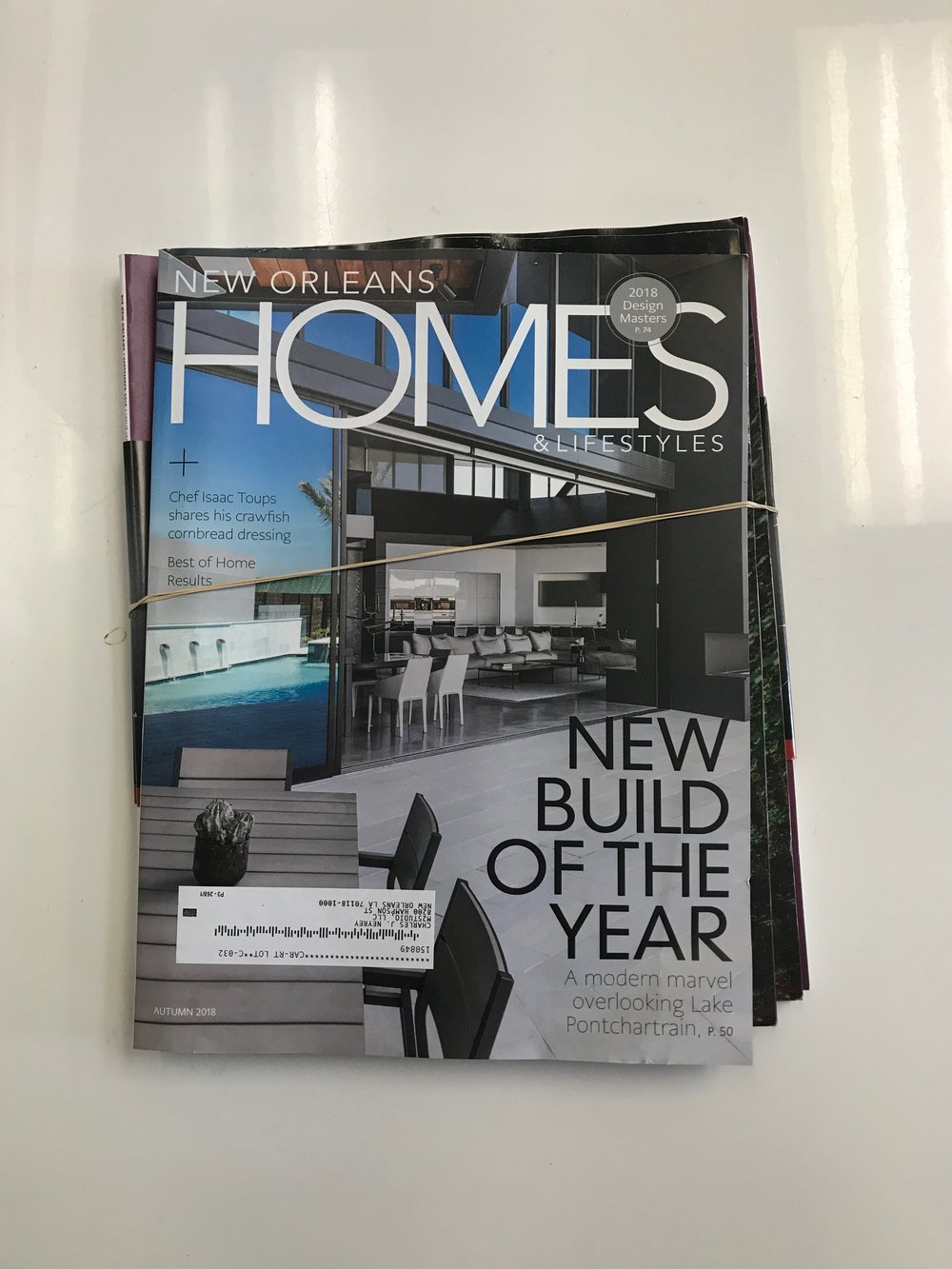 NEW BUILD OF THE YEAR |  NEW ORLEANS HOMES & LIFESTYLES AUTUMN 2018