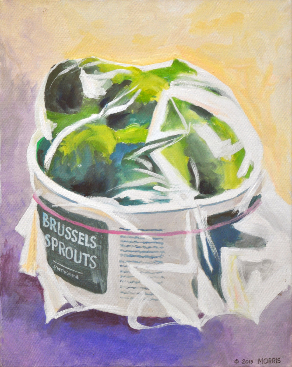 """Michael Morris, """"Brussels Sprouts"""""""