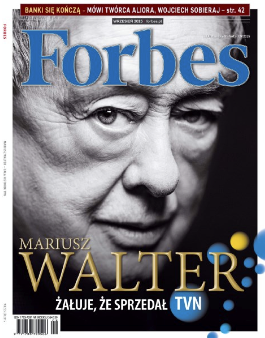 MARIUSZ WALTER FOR FORBES 09/2015