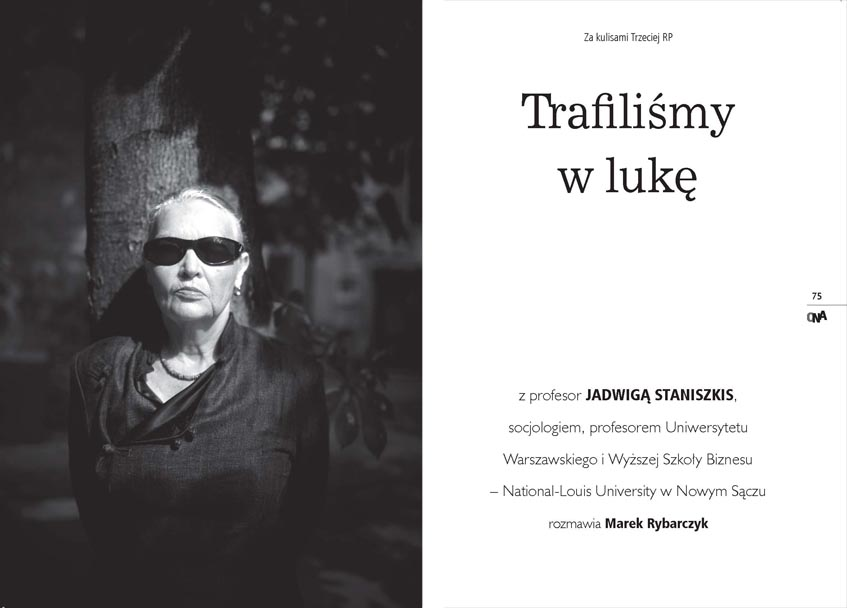 BOOK - SHE - behind the scenes of the third Republic of Polnd - WARSAW 2014