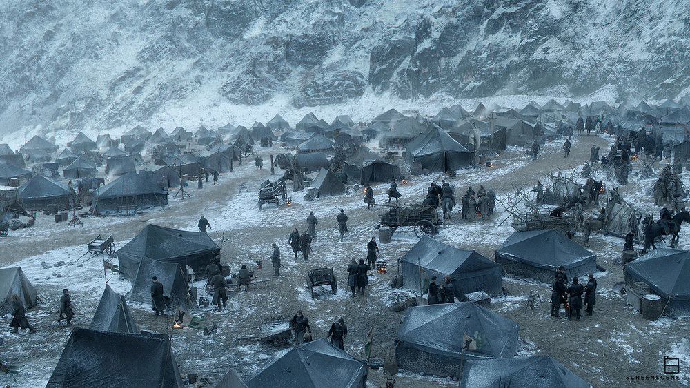 GAME OF THRONES S06 HBO - Screen Scene - Matte Painting